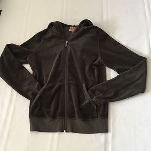 Juicy Couture Velour Hooded Jacket